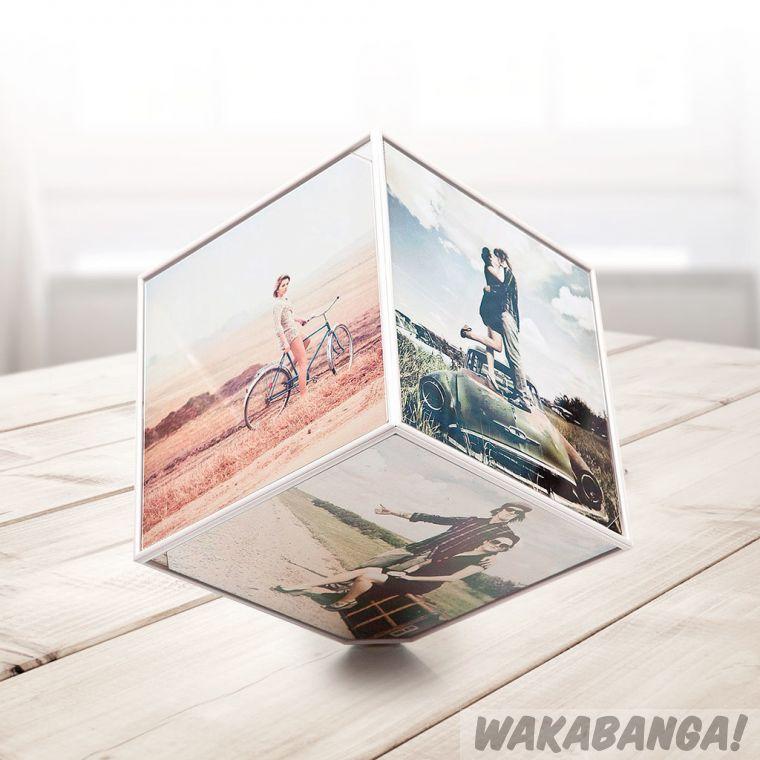 Marco para 6 fotos Kube: Cubo giratorio - Wakabanga
