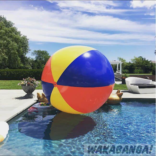 Balón de playa Gigante 3 metros - Wakabanga 971e98a9abee