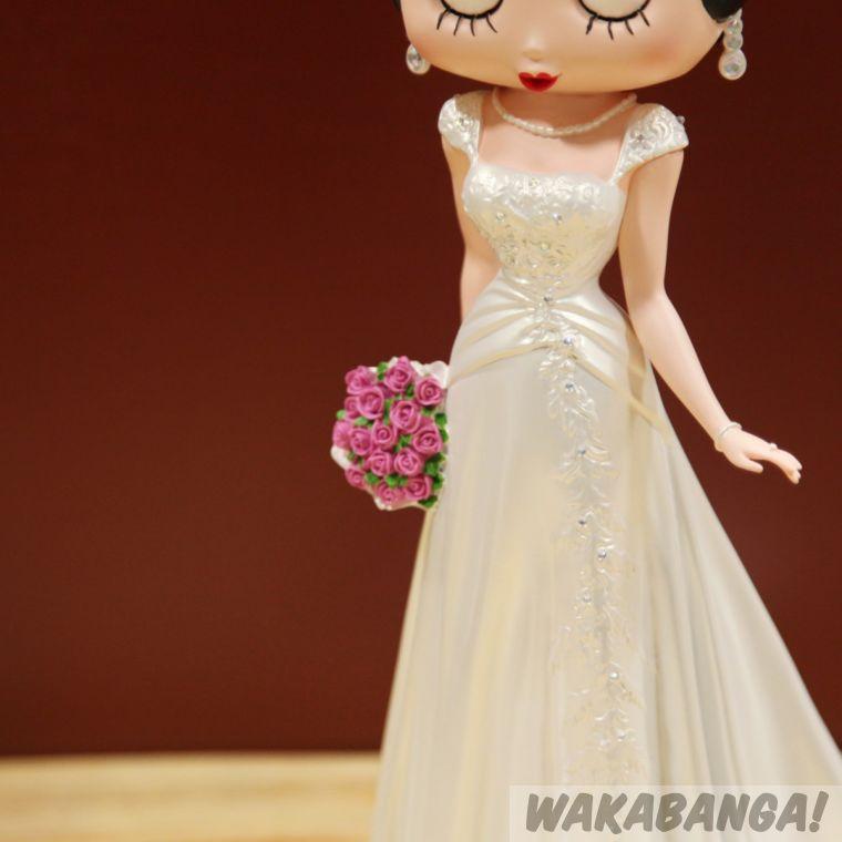 figura betty boop vestido de novia - wakabanga