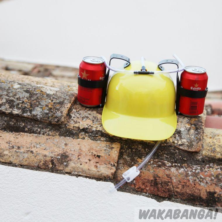 Casco con soporte para bebidas - Wakabanga f8010cf4750