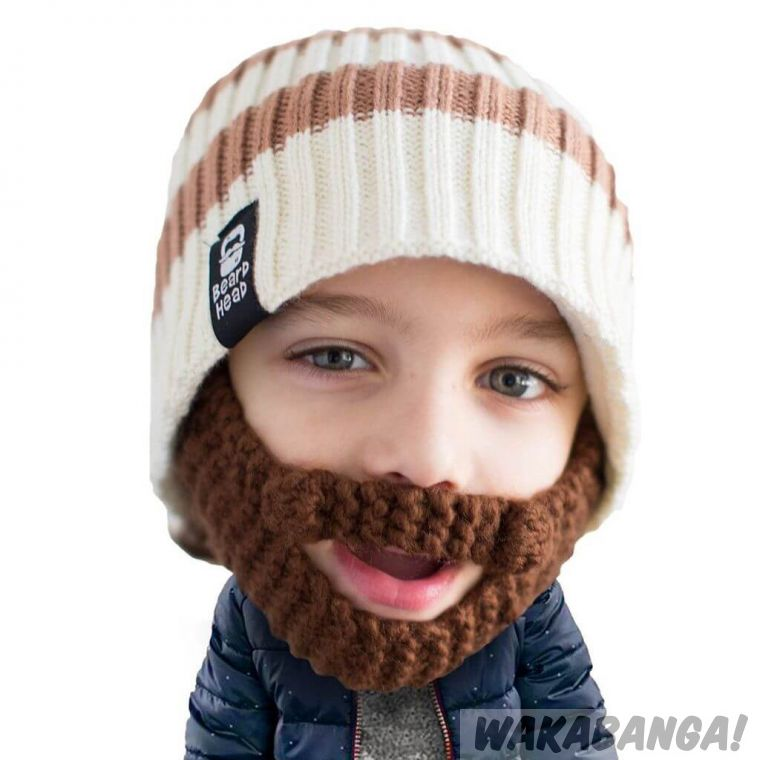 Gorro con barba niños Scruggler - Wakabanga 6dd978fe7a1