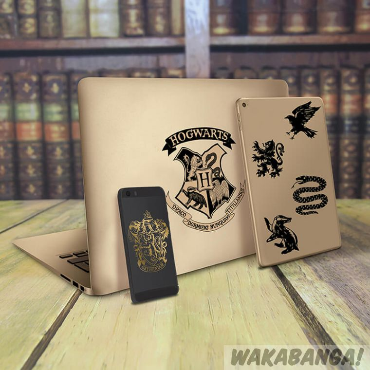c12f1ddaa Pegatinas vinilo Hogwarts  Harry Potter - Wakabanga