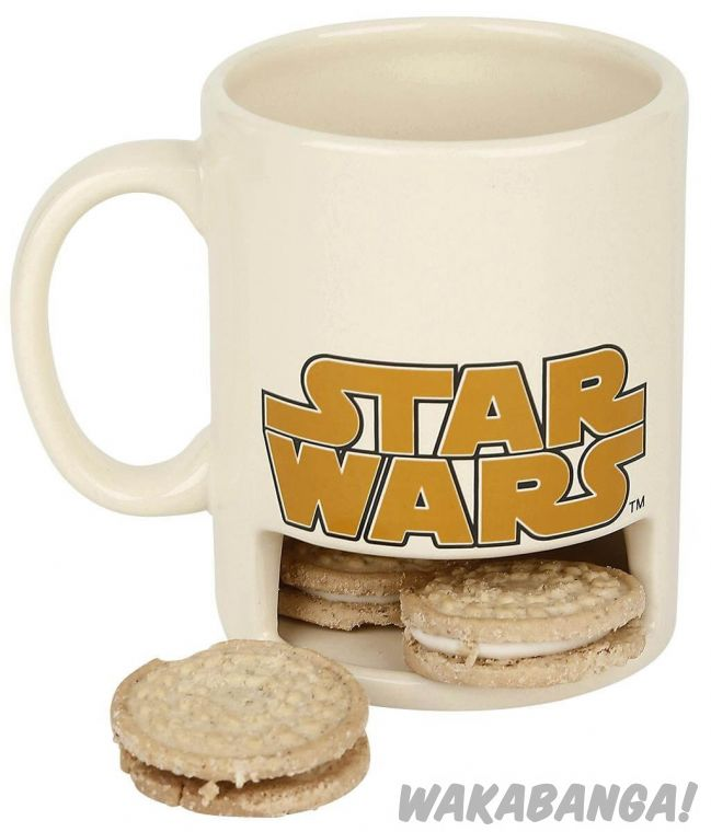 Taza Chewaka con soporte para galletas  Star Wars - Wakabanga ebd3dd9f61a