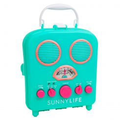Radio y amplificador Smartphone Turquesa