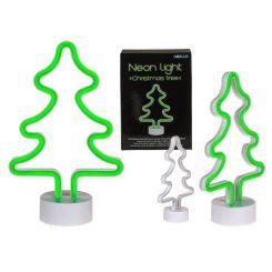 Lámpara árbol de navidad neón