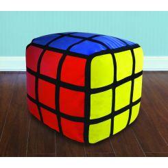 Asiento Hinchable Cubo Rubik