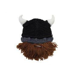 Gorro con barba niño Vikingo