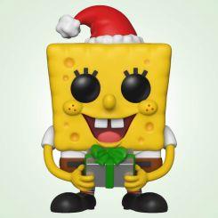 Figura Funko Pop! Bob Esponja Navidad