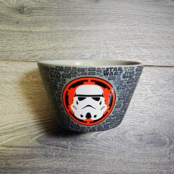 Bol con relieve Stormtrooper de Star Wars