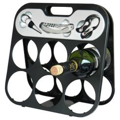 Kit Soporte portable 6 Botellas