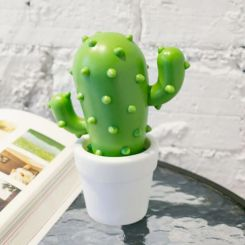 Lámpara ambiental Cactus cambia de color