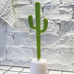Escobilla para el lavabo con forma de Cactus