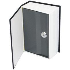 Caja fuerte camuflada en diccionario de inglés