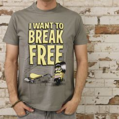 "Camiseta ""I want to break free"""