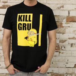 Camiseta Kill Gru Minions Negra