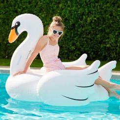 Colchoneta deluxe Cisne blanco Gigante