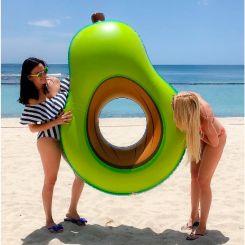 Flotador Aguacate gigante  hinchable