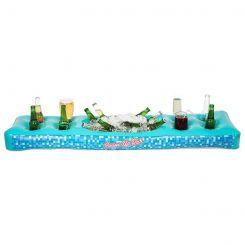 Barra para bebidas hinchable