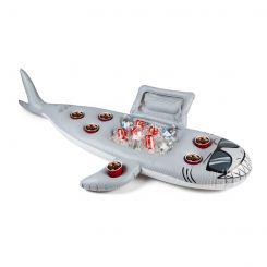 Colchoneta nevera y posavasos Tiburón