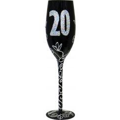 Copa Champagne negra 20 años