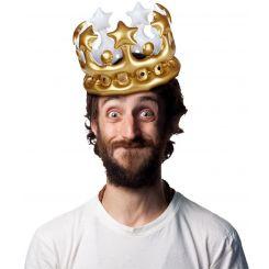 """Corona Hinchable """"Rey por un Día"""""""