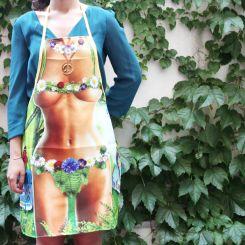 Delantal sexy Mujer Hippie