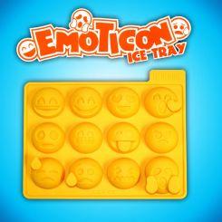 Molde de silicona cubitos Emoticonos