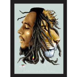 Espejo Bob Marley Modelo León