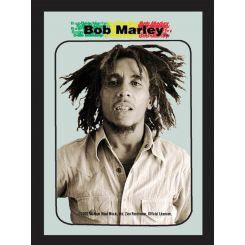 Espejo Bob Marley modelo color Sepia