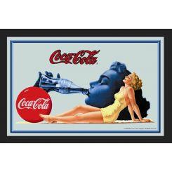Espejo Coca-Cola modelo chica bañador