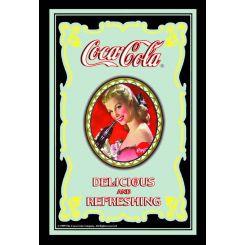Espejo Coca-Cola Modelo Chica