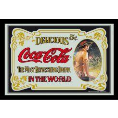 Espejo Coca-Cola modelo Clásico