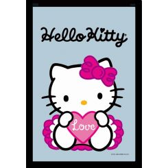 Espejo Hello Kitty modelo corazón