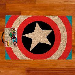 Felpudo escudo Capitán América