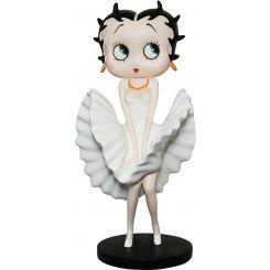 Figura Betty Boop Vestido blanco de Marilyn