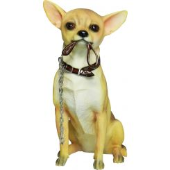 Figura perro Chihuahua sentado