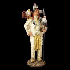 Figura Indio Americano con Águila