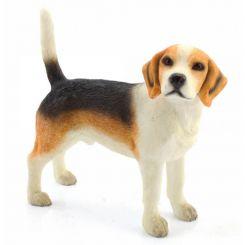 Figuras de resina de razas de perros