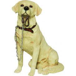 Figura perro Labrador sentado