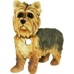 Figura perro raza Yorkshire Terrier