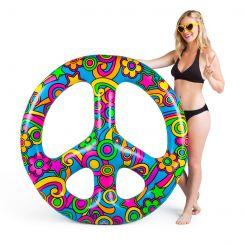 Flotador señal de la paz colorida gigante