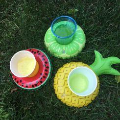 Frutas hinchables para bebidas