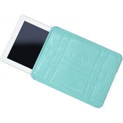 Funda para iPad azul compradora compulsiva