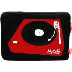 "Funda de portátil DJ 15"" My Cake"