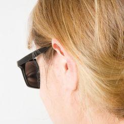 Gafas espía, con espejos a modo de retrovisor