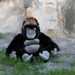 Gorila de peluche