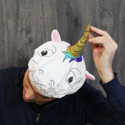 Gorro de ducha Unicornio