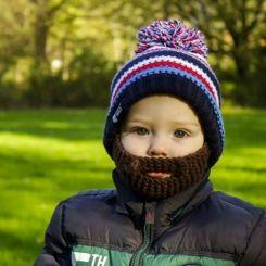 Gorro con barba Gromm para niños