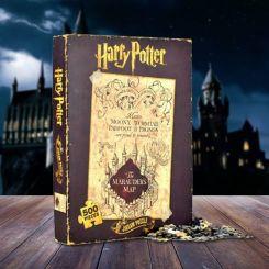 Puzzle Mapa del Merodeador Harry Potter