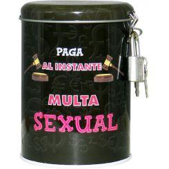 Hucha multa sexual